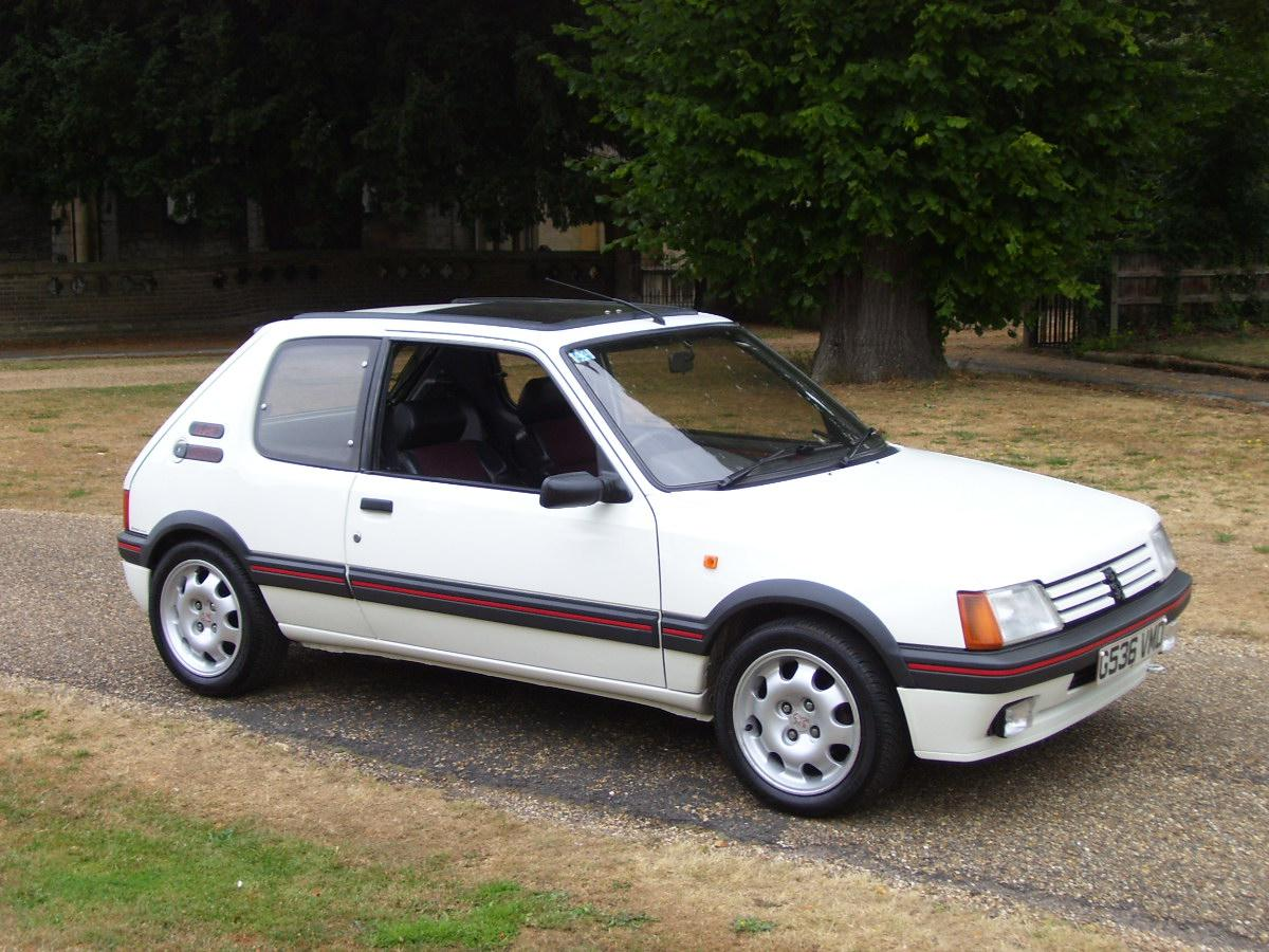 peugeot 205 gti. Black Bedroom Furniture Sets. Home Design Ideas