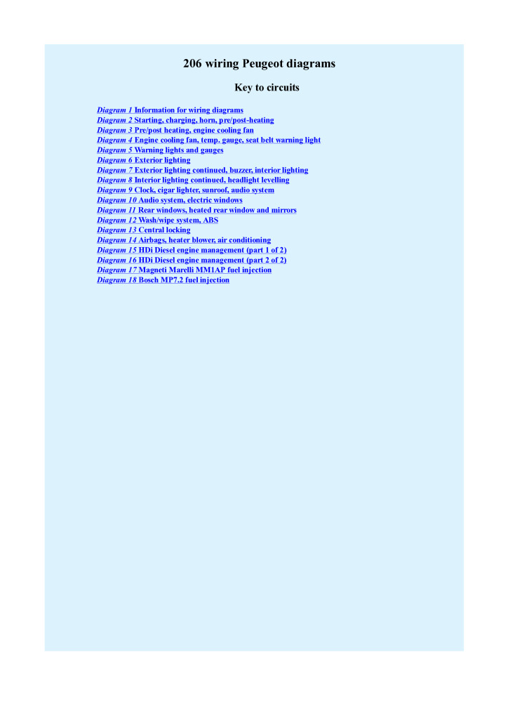 peugeot 206 wiring diagram.pdf (1021 KB) on light wiring parts, light roof diagram, light body diagram, light bulbs diagram, parking lights diagram, 2 lights 2 switches diagram, light switch, light transmission diagram, light thermostat diagram, 1994 mazda b4000 fuse panel diagram, http diagram, 2004 acura tl fuse box diagram, 2004 pontiac grand prix fuse box diagram, 2007 ford f-150 fuse box diagram, circuit diagram, light installation diagram, ford bronco fuse box diagram, light bar diagram, light electrical wiring, light electrical diagram,